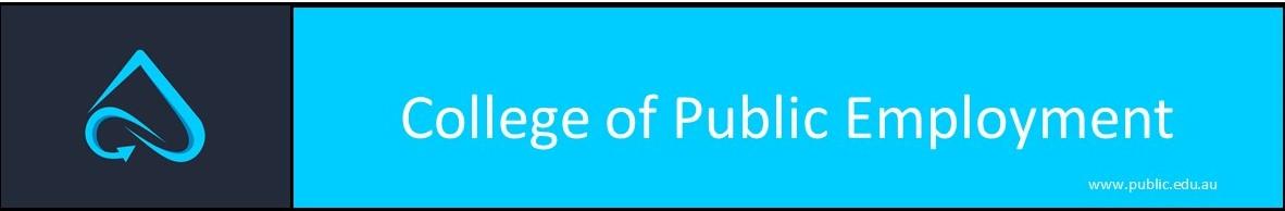 College of Public Employment
